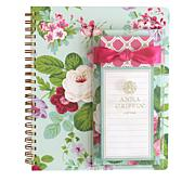 Anna Griffin® Spiral Notebook and List Pad