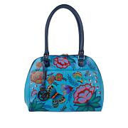 Anuschka Hand-Painted Leather Satchel