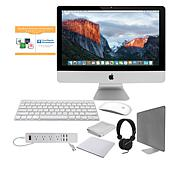"Apple iMac® 21"" Quad-Core i5 3.4GHz 8GB RAM, 1TB HDD PC Bundle"
