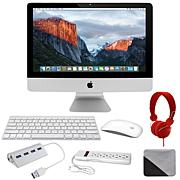 "Apple iMac® 27"" Intel Quad-Core i5 8GB RAM, 1TB HDD PC Bundle"