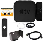 Apple TV® 2017 32GB with Siri Remote, Sleeve, Wall Mount & HDMI Cable