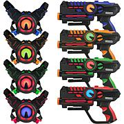 ArmoGear 4-Pack Infrared Laser Tag Set