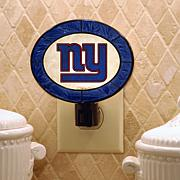 Art Glass Nightlight - New York Giants