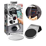 """As Is"" Bell + Howell Clever Grip Pro Hands-Free Phone Holder 2-pack"