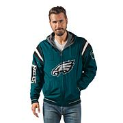 """As Is"" Officially Licensed NFL Hardball Reversible Hooded Jacket b..."