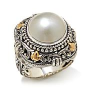 Bali Designs Mabé Pearl 2-Tone Sterling Silver Ring
