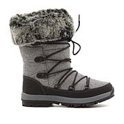 BEARPAW® Leslie Leather Waterproof Laced Boot  with NeverWet™