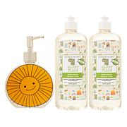 Beekman 1802 Happy Place 20 oz. Dish Soap 2pk w/Ceramic Dispenser AS