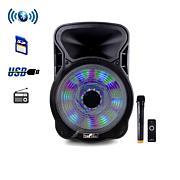 "beFree Sound 15"" Bluetooth Party Speaker w/Lights"