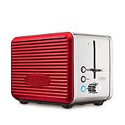 Bella Linea 2-Slice Stainless Steel Toaster - Red