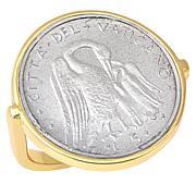 Bellezza Vatican City Lira Coin Bronze Ring