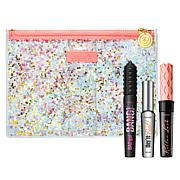 Benefit Cosmetics 3-piece Mascara Set with Confetti Makeup Bag