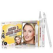 Benefit Cosmetics Defined & Refined Brow Kit Lt Brown