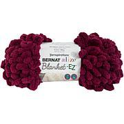 Bernat Alize Blanket-EZ Yarn - Burgundy