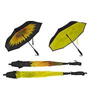 BetterBrella Deluxe Reverse Open and Close Umbrella 2-pack