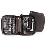 Bey-Berk LED Flashlight and Tool Set with Case