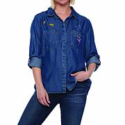 Billy T Wish Embroidery Shirt