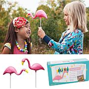 Bloem Mini 'Mingo 2-Pack Pink Flamingo Garden Stakes