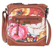 b.o.c. Floral-Print Crossbody Organizer Bag
