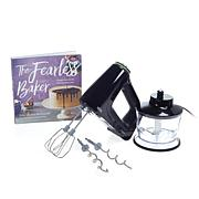 "Braun MultiMix 5 2-Cup Hand Mixer with ""The Fearless Baker"" Cookbook"