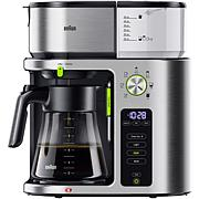 Braun MultiServe 10-Cup SCA Certified Coffee Maker w/Water Spout