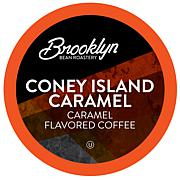 Brooklyn Beans Coney Island Caramel Coffee Pods