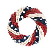 C&F Home Americana Chips Wreath