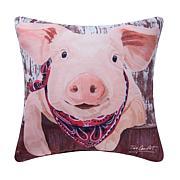 C&F Home Pig Indoor/Outdoor Pillow