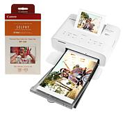 Canon Selphy Photo Printer with 113 Sheets of Paper & CarePak PLUS