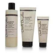 Carol's Daughter Karite Coco Nourishing 3-piece Body Set