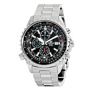 Casio Men's Steel Bezel Edifice Chronograph Watch