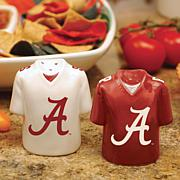 Ceramic Salt and Pepper Shakers - Alabama