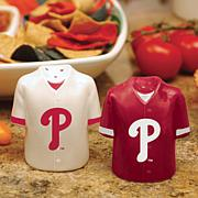Ceramic Salt and Pepper Shakers - Philadelphia Phillies