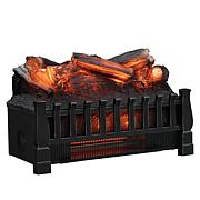 Classic Flame Infrared Log-Style Heater