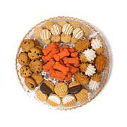 Claudia's Canine Bakery 29oz Treat Platter - B & W