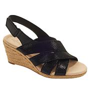 Collection by Clarks Lafley Krissy Leather Wedge Sandal