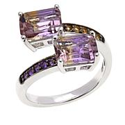 Colleen Lopez 3ctw Ametrine and Gem Bypass Ring