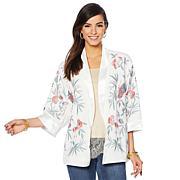 Colleen Lopez Embroidered Kimono