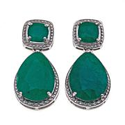 "Colleen Lopez ""Emerald City"" Drop Earrings"