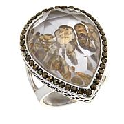 Colleen Lopez Whiskey Quartz Shaker Ring