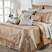 Concierge Collection 16-piece Jacquard Comforter Bedding Set