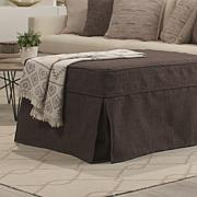 Concierge Collection Convertible Twin Ottoman - Chocolate