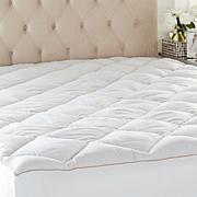Concierge Collection Ever Clean Mattress Pad - Diamond Quilted
