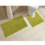 Concierge Collection Trier 2-piece Bath Rug Set