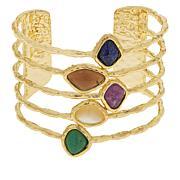 Connie Craig Carroll Jewelry Rayna Multi-Gemstone Cuff
