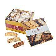 Cookies Con Amore 2 lb. Assorted Biscotti Tin