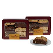 Cookies Con Amore (2) 1 lb. Tins of Cookies, Biscotti or Combo of Both
