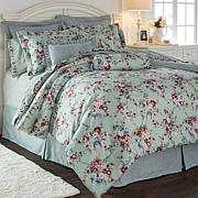 Cottage Collection Floral 100% Cotton 9pc Comforter Set