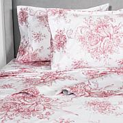 Cottage Collection Toile 400TC 100% Cotton Sheet Set-F