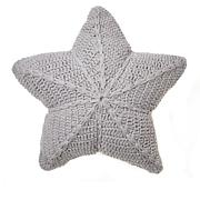 Country Living Home Collection 100% Cotton Crochet Star Pillow